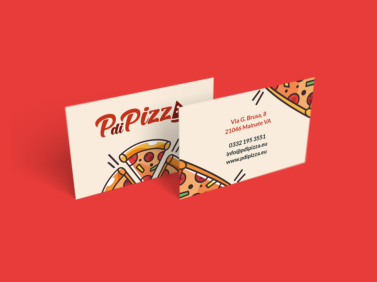 PdiPizza Business card
