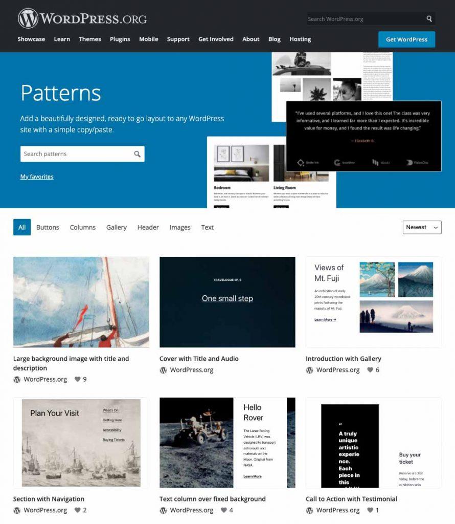 pattern directory